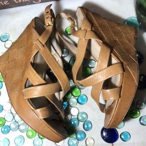 Joan & David Wedge Sandals